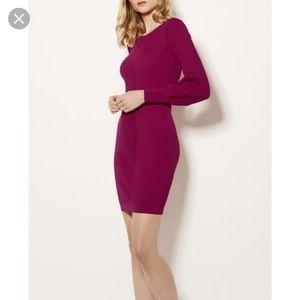 Karen Millen purple knit dress